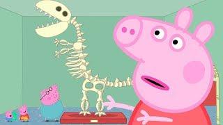Peppa Pig in Hindi - The Museum - हिंदी Kahaniya - Hindi Cartoons for Kids