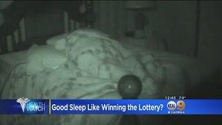Good Night's Sleep Equal To Winning The Lottery?