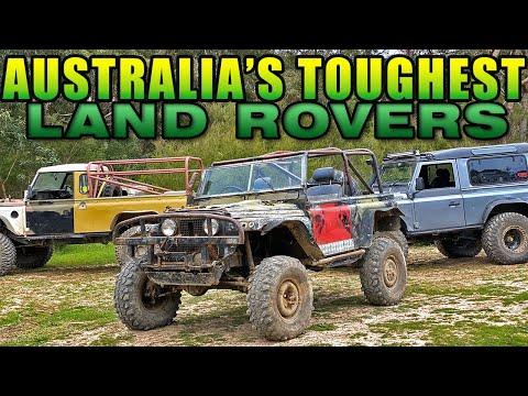 AUSTRALIA'S TOUGHEST LAND ROVERS