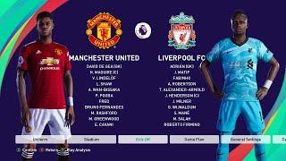 Premier League Manchester United vs Liverpool Prediction PES2020PC