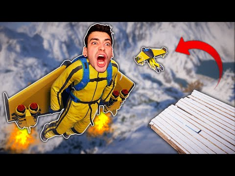 I JETPACKED OFF A MOUNTAIN?! (Steep) |