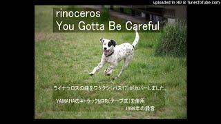 rhinoceros ライナセロス YOU GOTTA BE CAREFUL (cover)1999年録音 YA...