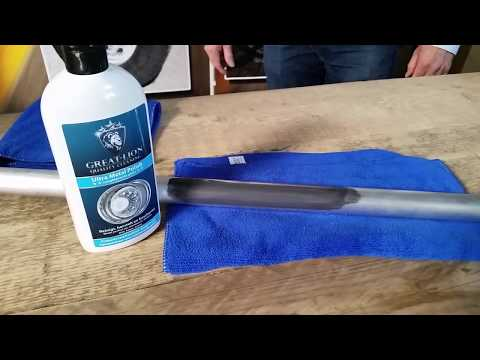 Great Lion Metal Polish for easy polishing aluminum, How to polish aluminium