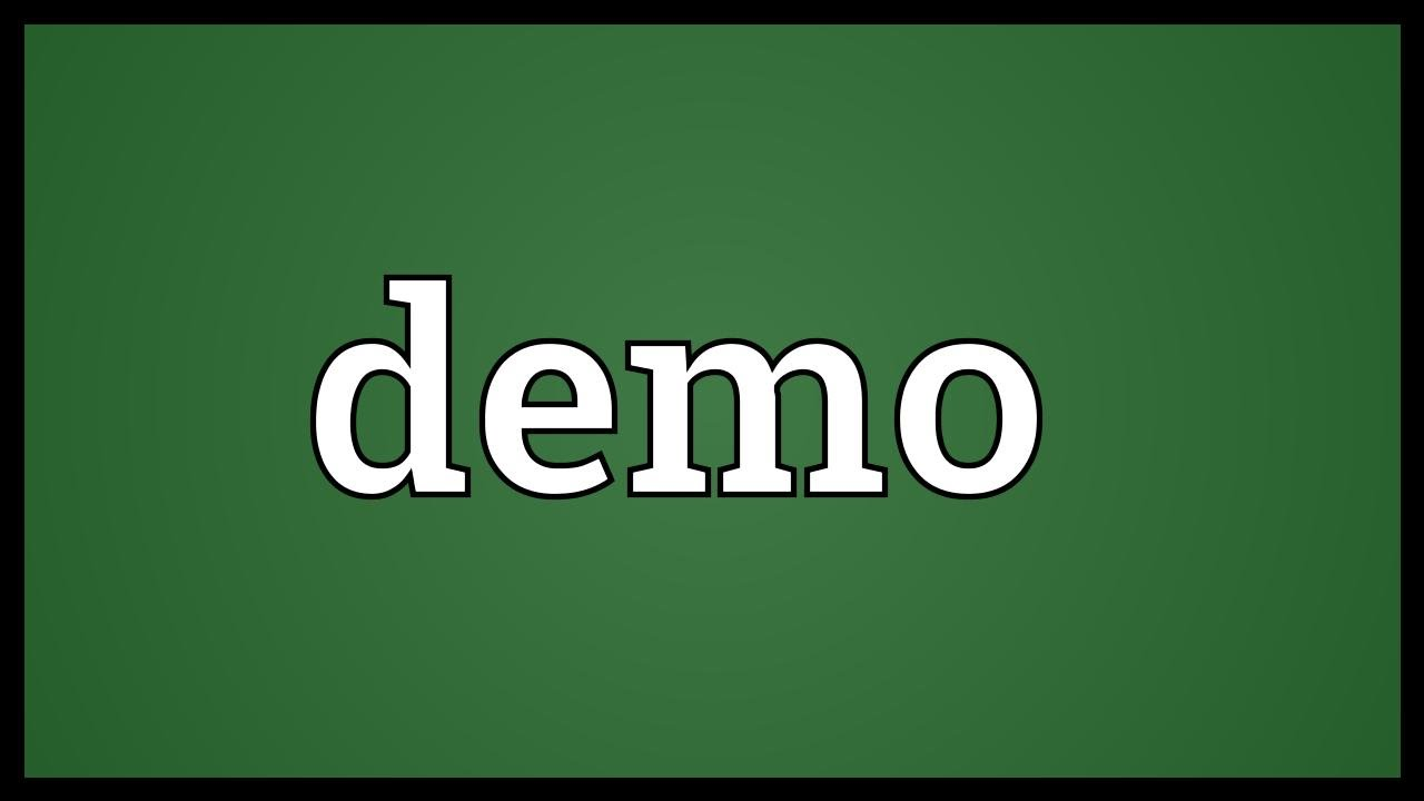 Demo Meaning