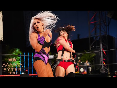 WHO WALKED AWAY WITH THE AEW WOMEN'S CHAMPIONSHIP? | FYTER FEST NIGHT 1, 7/1/20