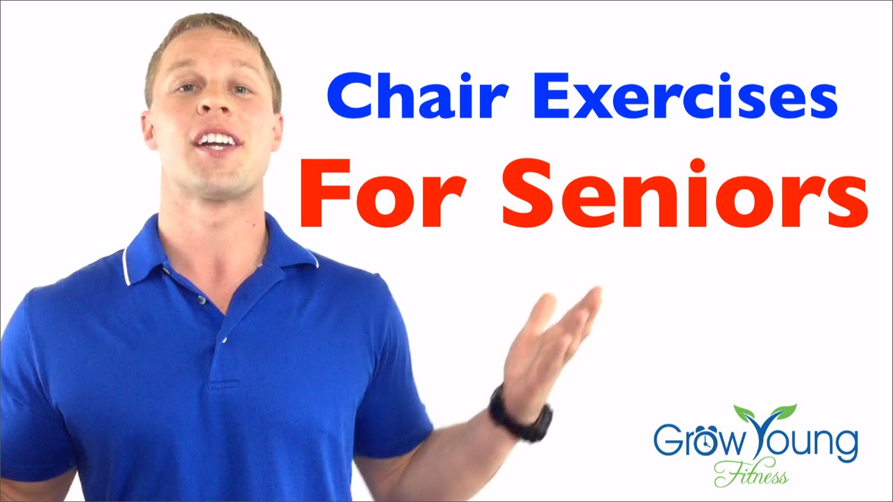 Chair exercises for seniors - Chair Exercises For Seniors Senior Fitness Exercises For The Elderly