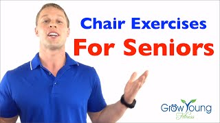 Chair exercises for seniors: check out the trial on website! https://growyoungfitness.com in this video deron buboltz takes you through his fun, step by ...
