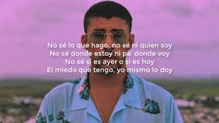 RLNDT - Bad Bunny X100PRE (LETRA/LYRICS)