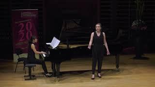 Flore Van Meerssche (soprano) & Hiroko Utsumi (piano) – Duo 29 - 1st round