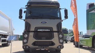 Ford Trucks 1848T Euro 6 Tractor Truck (2017) Exterior and Interior