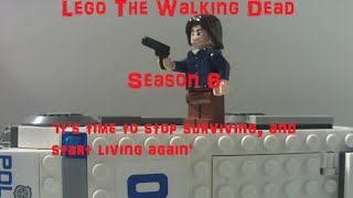 Lego The Walking Dead Season 6 Episode 12 - Deceit