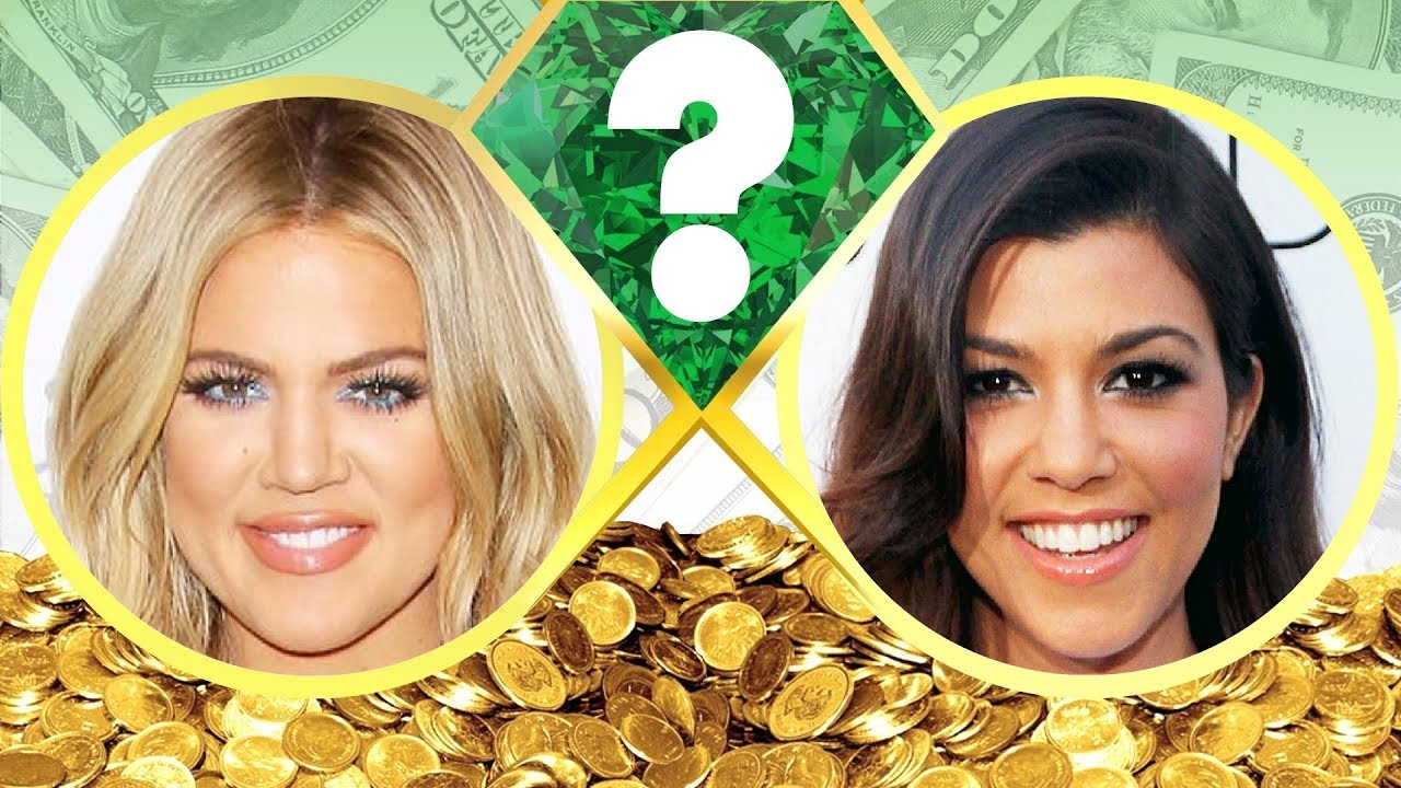 WHO'S RICHER? - Khloe Kardashian or Kourtney Kardashian ...