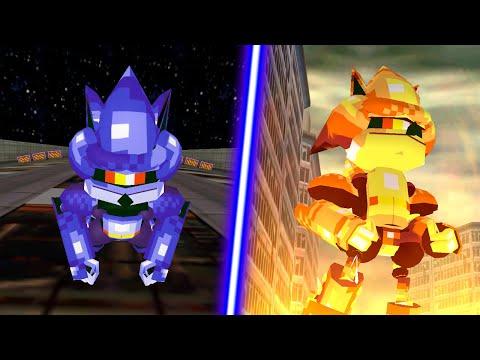 Sonic Adventure DX - Mecha Sonic Mod |