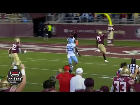 North Carolina Tar Heels Vs. Florida State Seminoles | 2020 College Football Highlights