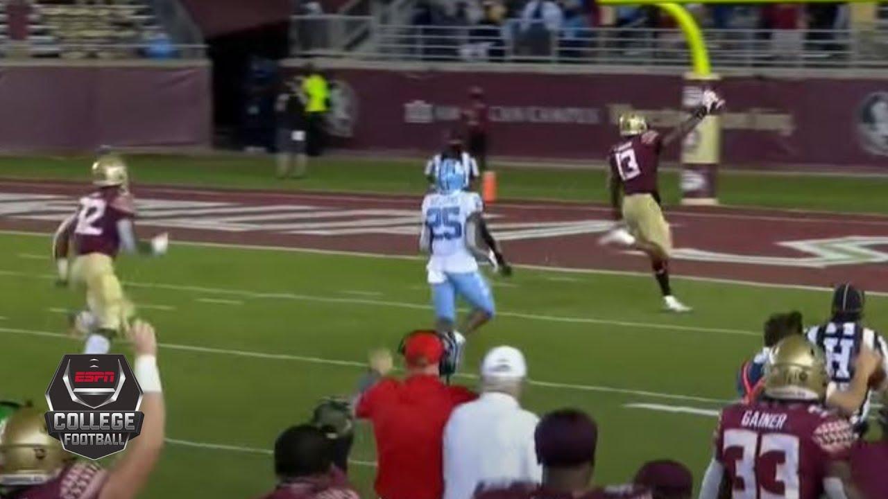 North Carolina Tar Heels vs. Florida State Seminoles | 2020 College Football Highlights