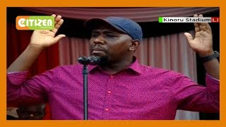 Kipchumba Murkomen: We need to accept that President Uhuru kenyatta did not rig the elections