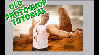 Photoshop Tutorial - Creative composite (DANISH)