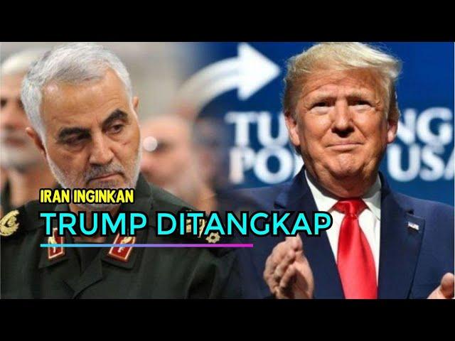 MEMANAS, Iran Laporkan Donald Trump ke Interpol Agar Ditangkap