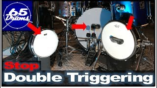 How To FIX Kickdrum Double Triggering Issues