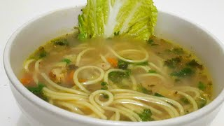 Chicken Noodle Soup recipe  How to make Chicken Noodle Soup like a chef