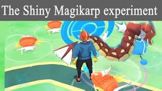 Shiny magikarp the only way its meant to be caught? Pokemon Go shiny update