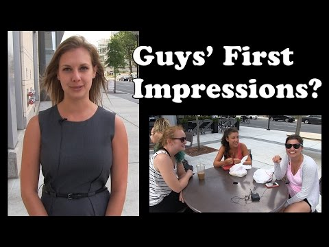 First Thing You Notice In A Guy - Ask Women (Philadelphia)