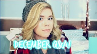 ❄ New Boyfriend, Confidence, and Christmas December Q&A 2014 // Makeupkatie95❄ Thumbnail