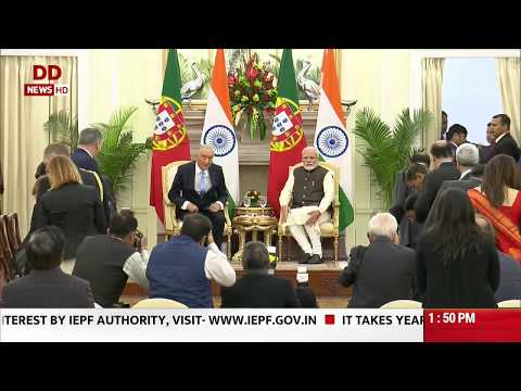 Full Event: India, Portugal Ink 7 MoUs