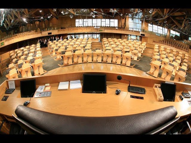 Immersive Tour: The Debating Chamber at the Scottish Parliament (BSL)
