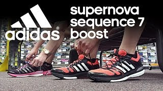 Running Shoe Overview: adidas Supernova Sequence 7 Boost