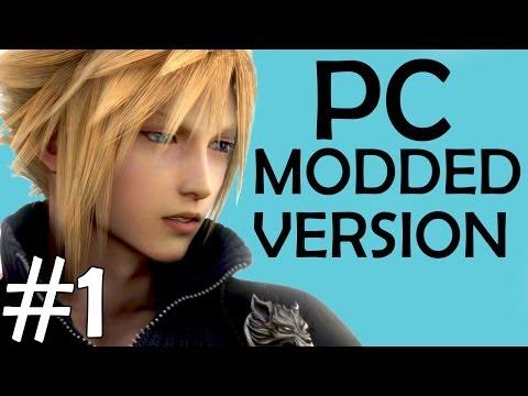 Final Fantasy VII - Movie Version -1- Trouble In Midgar (PC Modded HD Remaster All Cutscenes)