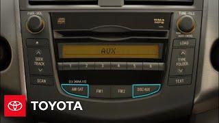 2011 РАВ4 як: аудіо система | Тойота