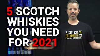 5 Scotches YOU NËED For 2021 (ADHD Whiskey & Whisky Central Edition)