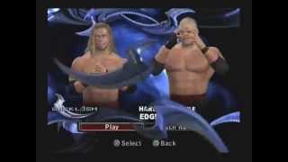 WWE Smackdown vs Raw 2006 Gameplay  - Edge vs Kane