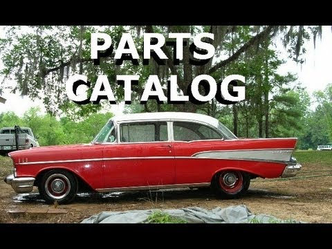 DANCHUK - Parts Catalog for 55 56 57 Chevy - YouTube