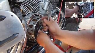 yamaha royal star venture clutch replacement