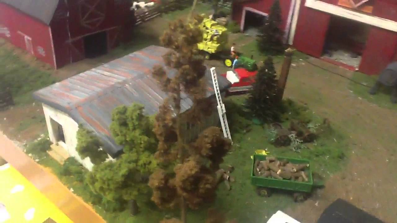 Ertl farm layout youtube for 1 64 farm layouts