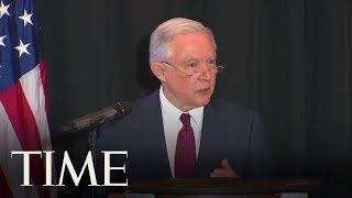 AG Jeff Sessions Cites The Bible To Defend Separating Immigrant Families | TIME AG Jeff sessions cites