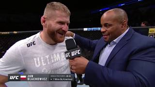 UFC Rio Rancho: Jan Blachowicz Octagon Interview