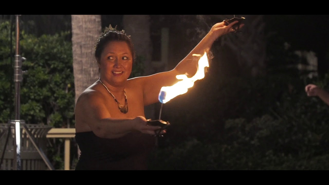Polynesian Fire Show at Corporate Event by Envents