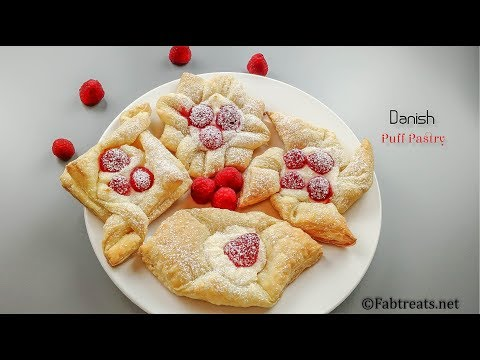Danish Puff Pastry / Puff Pastry 4 ways