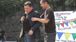 Allan K with funny Japanese audience@Tokyo in Japan