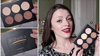 Aesthetica Contour Kit Review | DUPE for Anastasia Contour Kit Thumbnail