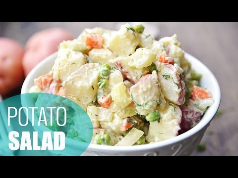 How to cook small red potatoes for potato salad