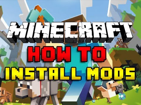 how to install mod on minecraft