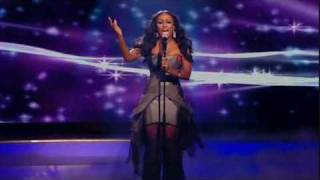 "The X Factor - The Quarter Final Act 3 (Song 2) - Alexandra Burke  | ""Listen"""