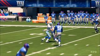 Madden NFL 25 - Dallas Cowboys vs. New York Giants Gameplay [HD]