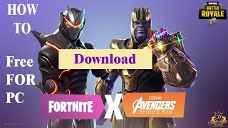 how to install fortnite battle royale free to pc Windows 10/8/7 very easy