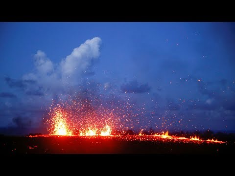 'Lava chaser' documents Kilauea volcano eruption