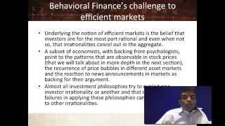 Session 7: Market Efficiency - Laying the Groundwork